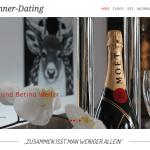 First Class Dinner-Dating in Wiesbaden