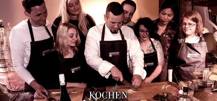 Webseite mit Onlineshop: Kochwerkstatt Wiesbaden