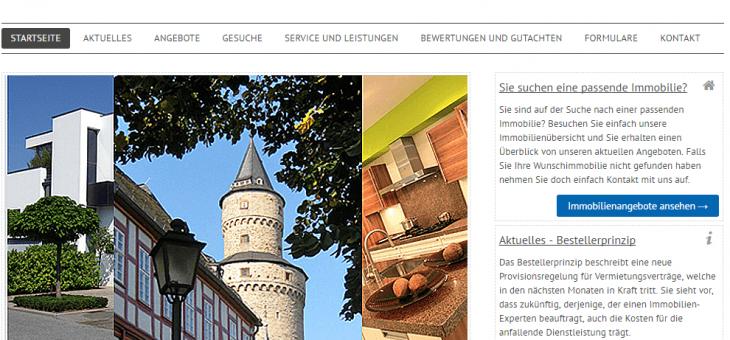 Neue Webseite für BDS Immobilien