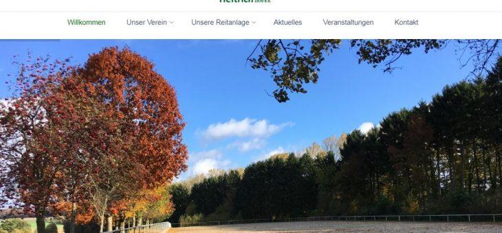 Reitsportgemeinschaft Heftrich mit neuer Webseite