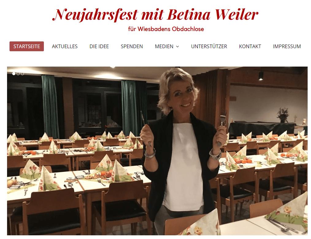 Neujahrsfest von Betina Weiler